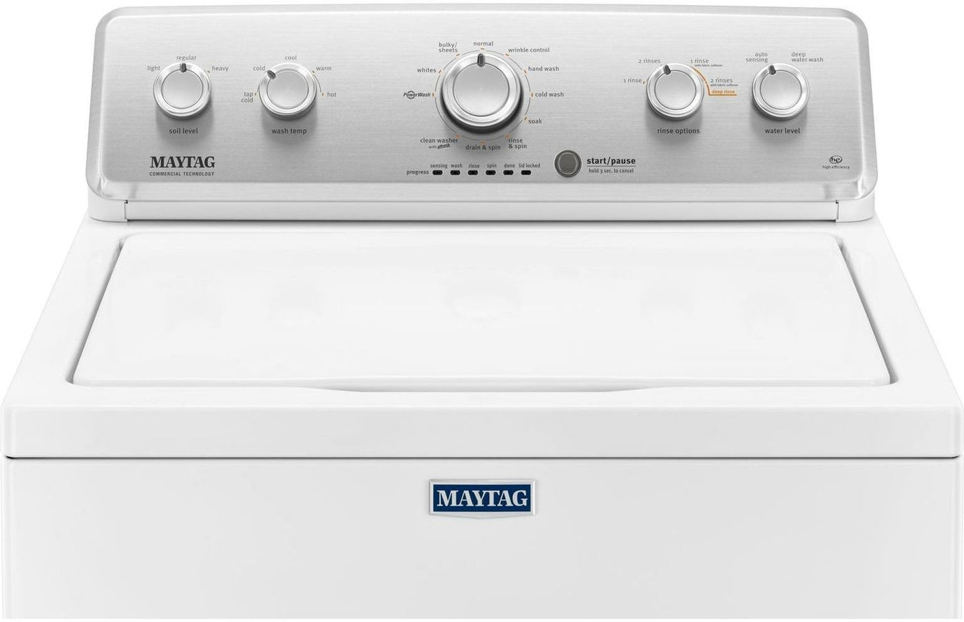 Maytag White Top Load Washer 4 8 Cu Ft Iec Mvwc565fw