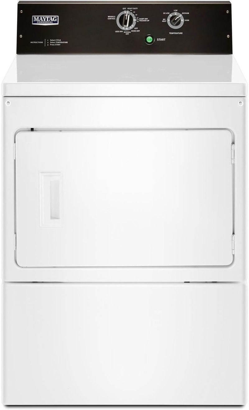 Maytag White Gas Dryer (7.4 Cu. Ft.) - MGDP575GW