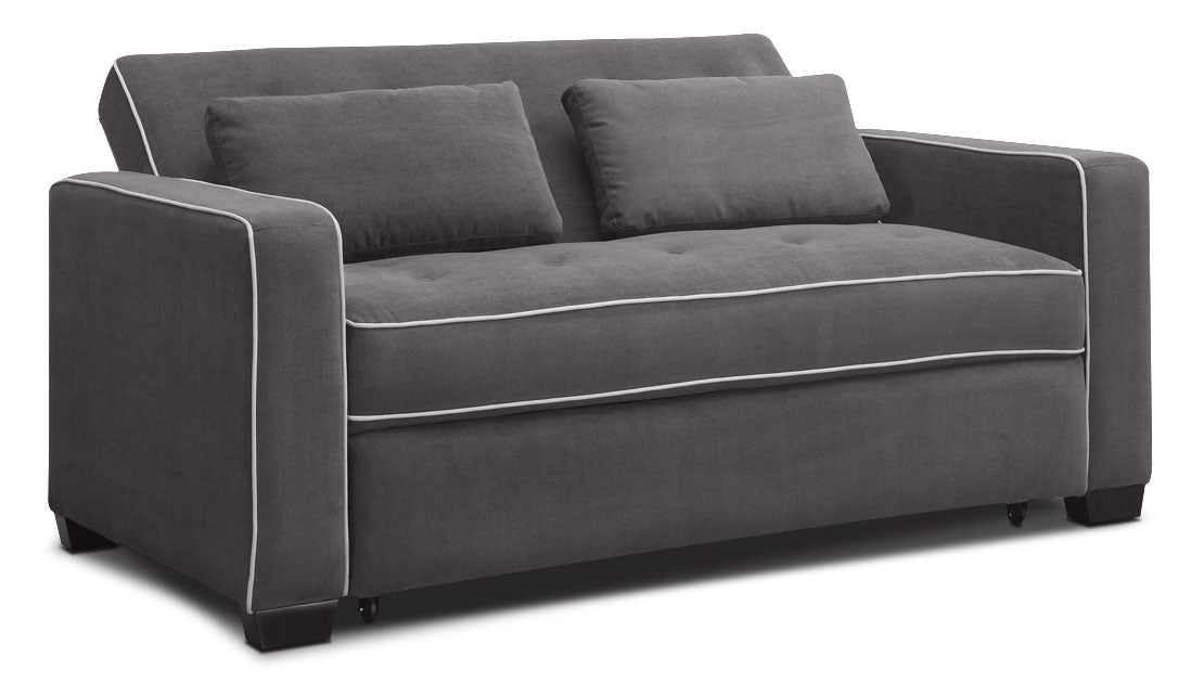 Super Augustine Sofa With Full Size Pop Up Bed Grey Download Free Architecture Designs Itiscsunscenecom