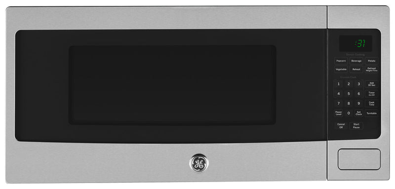 GE Profile Stainless Steel Spacemaker Countertop Microwave (1.1 Cu. Ft.) - PEM10SFC
