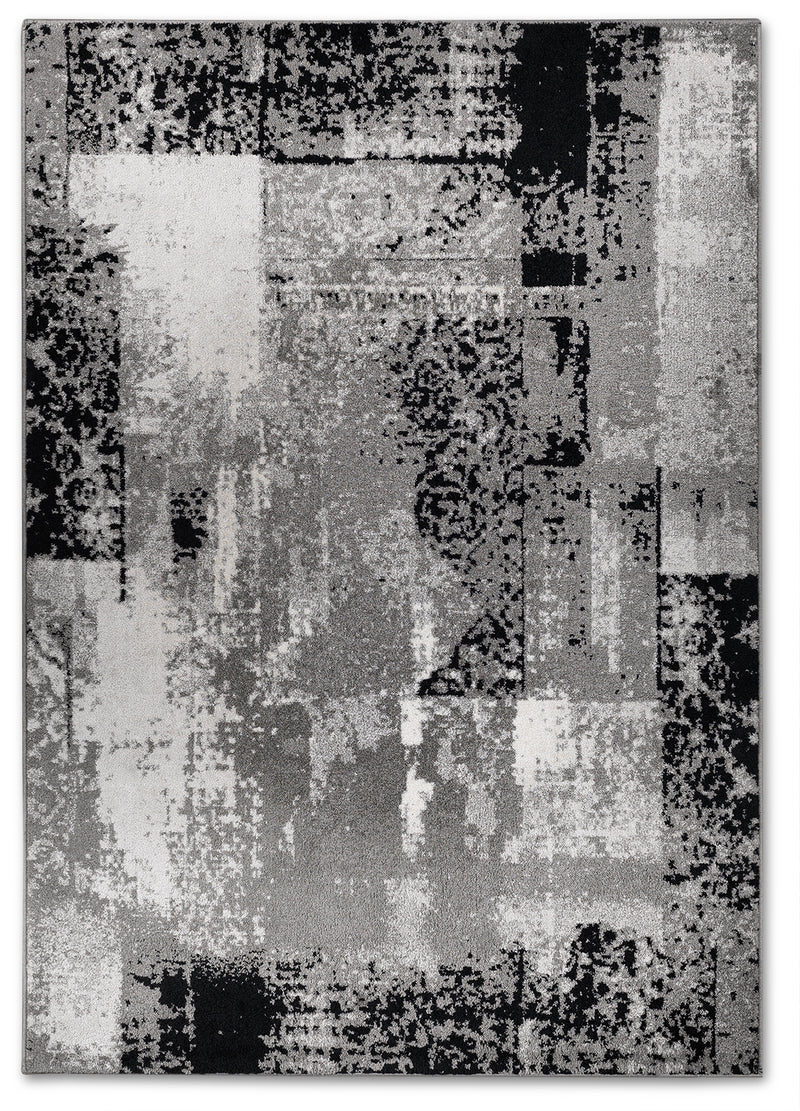 Distressed Mode 5' x 8' Area Rug
