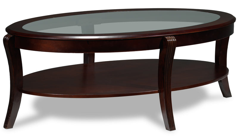 Theo Coffee Table - Mahogany
