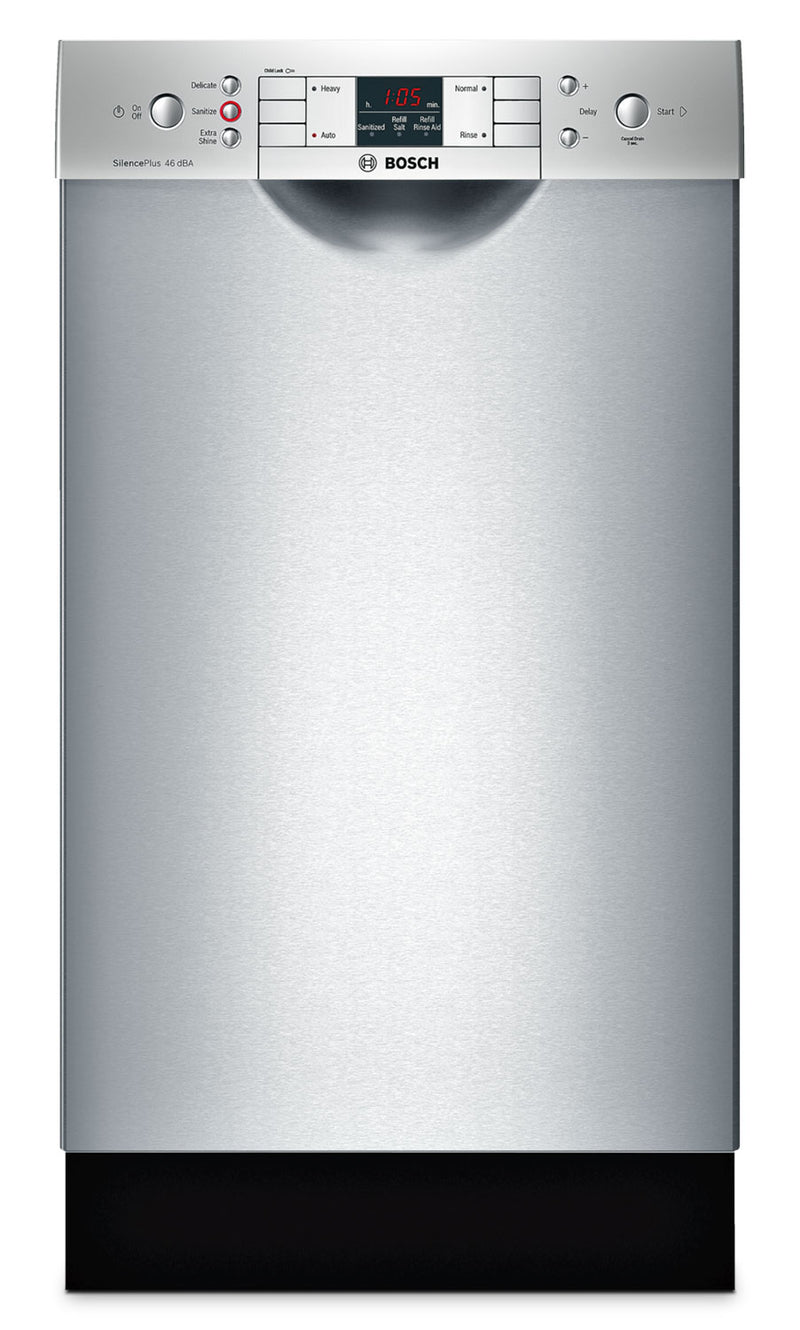 "Bosch Stainless Steel 18"" Dishwasher - SPE53U55UC"