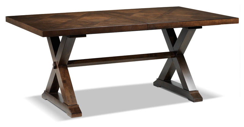 Claira Dining Table - Rustic Brown