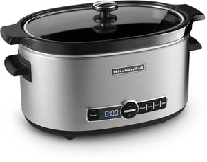KitchenAid Stainless Steel 6-Quart Slow Cooker - KSC6223SS