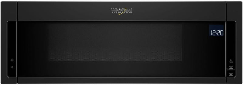Whirlpool Black Over-the-Range Microwave and Hood Combination (1.1 Cu. Ft.) - YWML75011HB