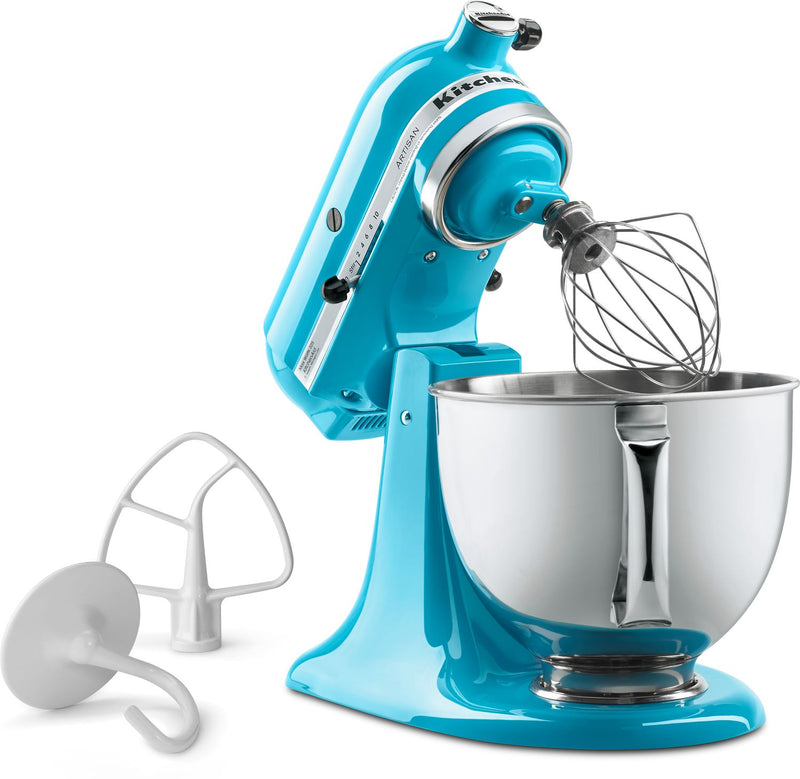KitchenAid Crystal Blue 5-Quart Tilt-Head Stand Mixer - KSM150PSCL