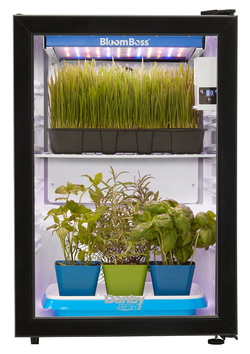 Danby Black Countertop Herb Grower (2.6 Cu. Ft.) - DFG26A1B
