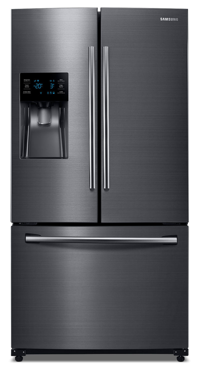 Samsung Black Stainless Steel French Door Refrigerator (24.6 Cu. Ft.) - RF263BEAESG