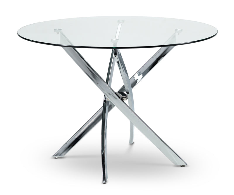 Kate Dining Table - Chrome