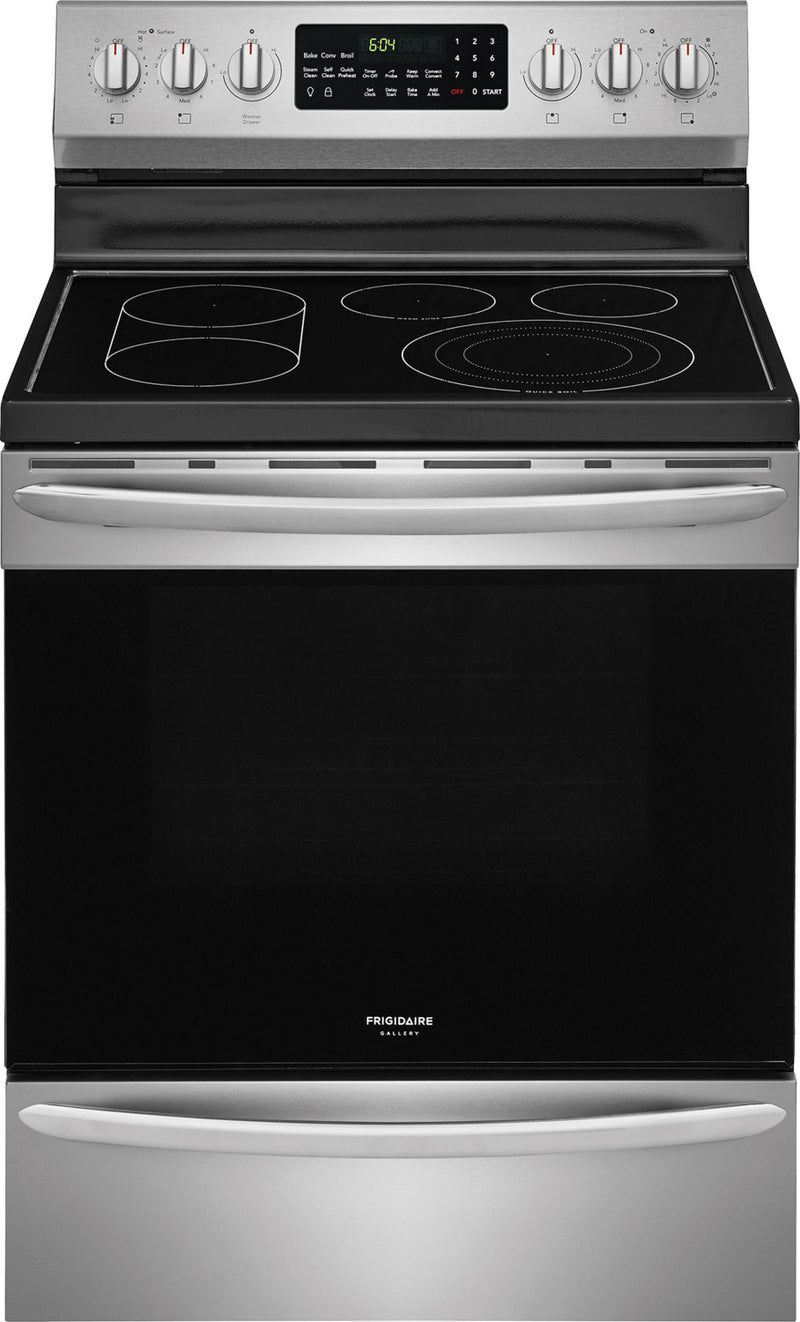 Frigidaire Gallery Stainless Steel Freestanding Electric Convection Range (5.7 Cu. Ft.) - CGEF3062TF