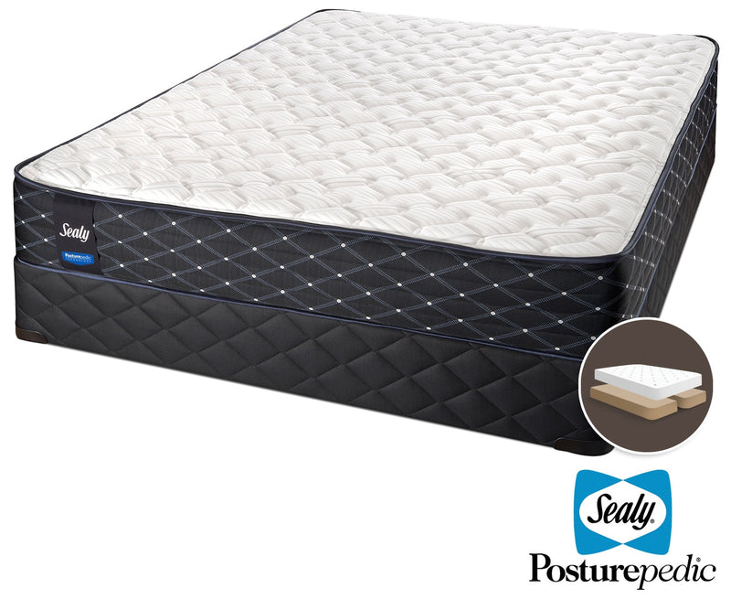 Sealy Innovate Extra Firm King Mattress and Split Boxspring Set
