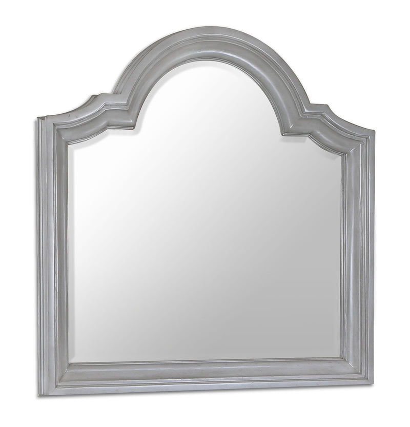 Tressa Mirror - Weathered White