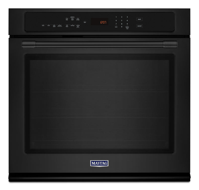 Maytag Black True Convection Wall Oven (4.3 Cu. Ft.) - MEW9527FB