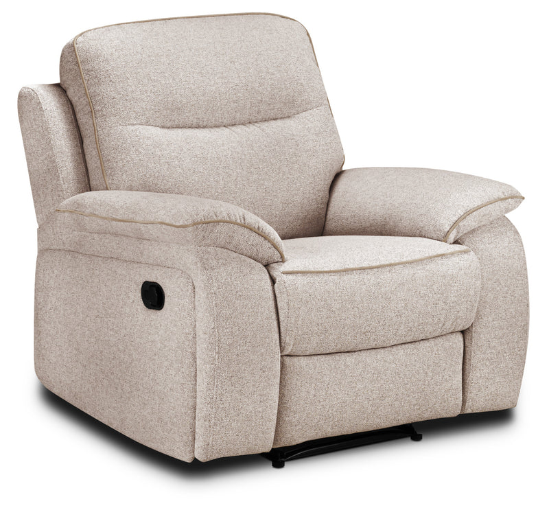 Latham Recliner - Bisque
