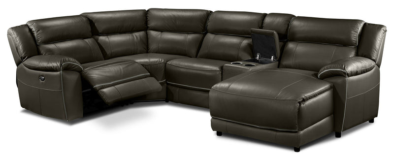 Holton 5 Piece Sectional With Right Facing Chaise