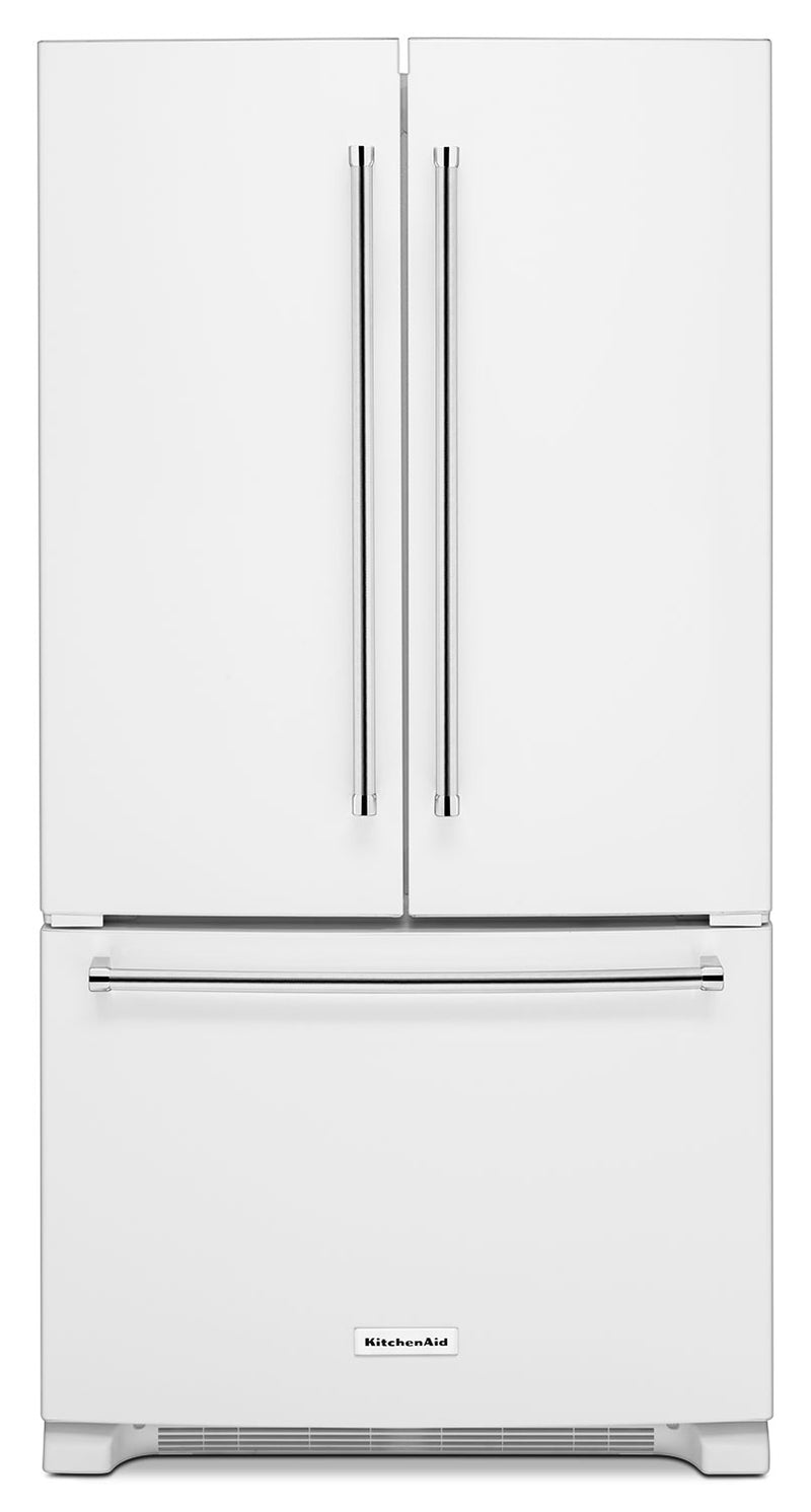 KitchenAid White French Door Refrigerator (25 Cu. Ft.) - KRFF305EWH