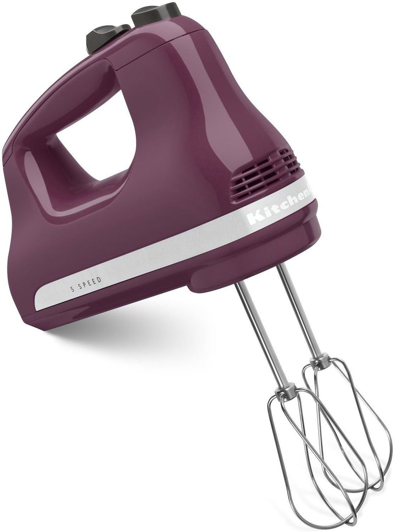 KitchenAid Boysenberry 5-Speed Ultra Power™ Hand Mixer KHM512BY