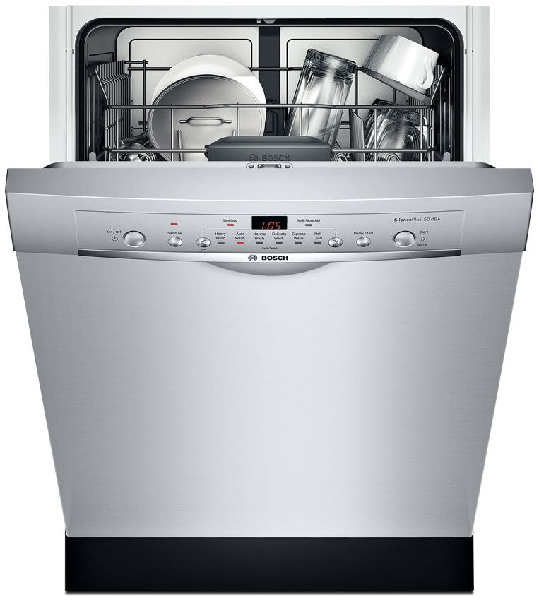"""Bosch Stainless Steel 24"""" Dishwasher - SHE3AR75UC"""