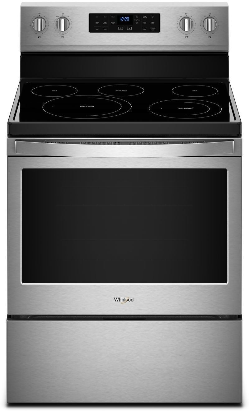 Whirlpool Stainless Steel Freestanding Electric Convection Range (5.3 Cu. Ft.) - YWFE550S0HZ