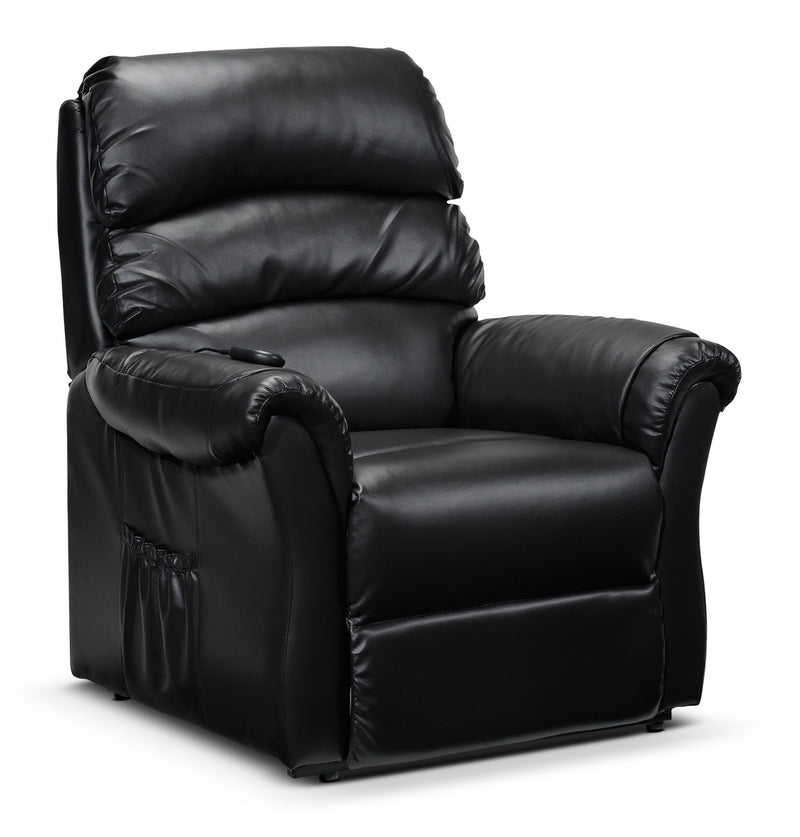 Paolo Power Lift Recliner - Dark Brown