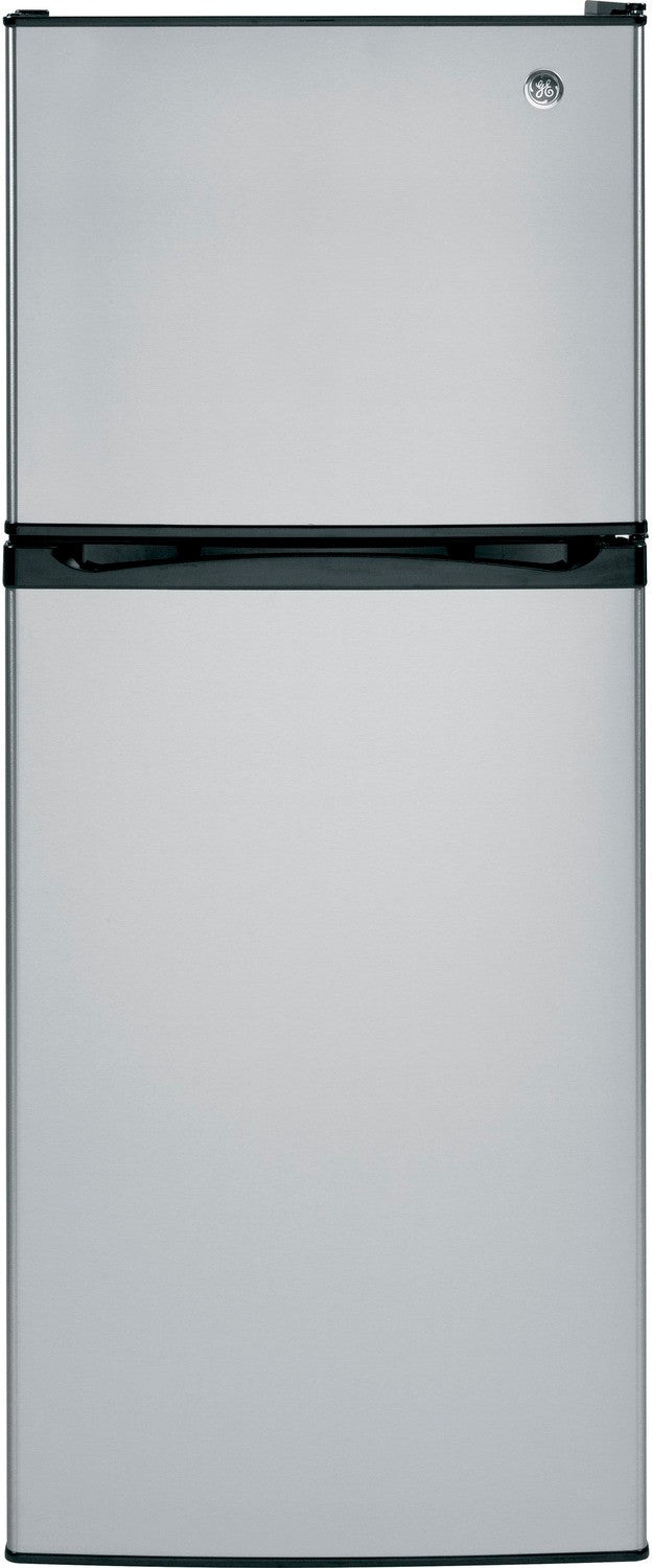GE Stainless Steel Top-Freezer Refrigerator (11.55 Cu. Ft.) - GPE12FSKSB