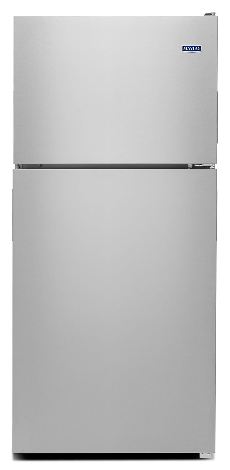 Maytag Monochromatic Stainless Steel Top-Freezer Refrigerator (21.0 Cu. Ft.) - MRT311FFFM