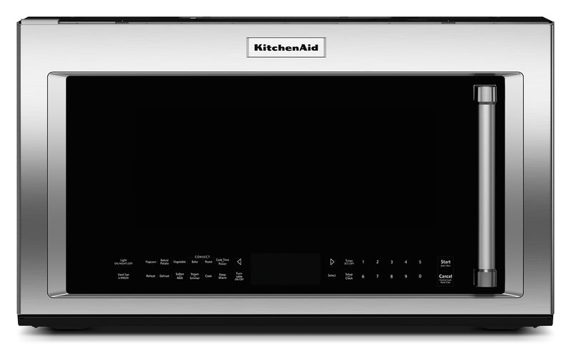 KitchenAid Stainless Steel Over-the Range Microwave (1.9 Cu. Ft.) - YKMHC319ES
