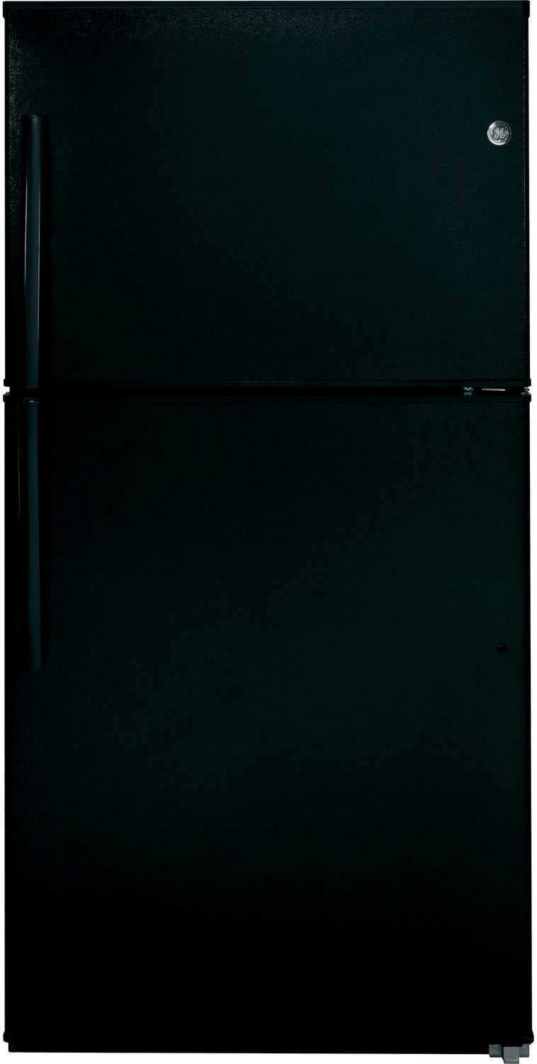 GE Black TOP-FREEZER REFRIGERATOR (21.2 CU. FT.) - GTE21GTHBB