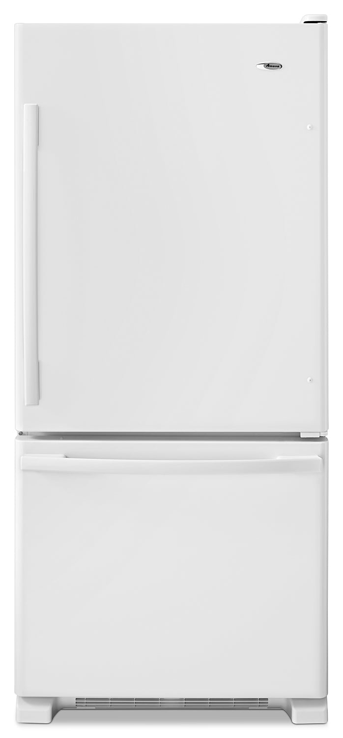 Amana White Bottom-Freezer Refrigerator (18.7 Cu. Ft.) - ABB1924BRW