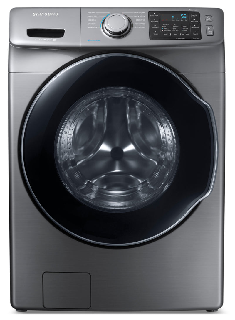 Samsung Platinum Front-Load Washer (5.2 Cu. Ft IEC) - WF45M5500AP/A5