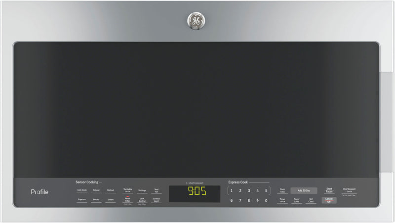 GE Profile Stainless Steel SpaceMaker Over-the-Range Microwave (2.1 Cu. Ft.) - PVM2188SJC