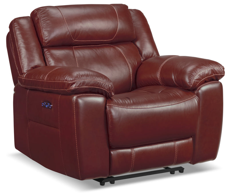 Solenn Power Recliner - Redwood