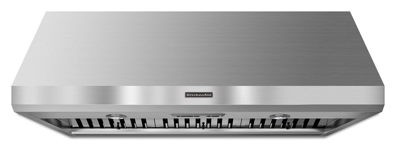 "KitchenAid Stainless Steel 48"" 1200 CFM Wall-Mount Range Hood - KXW8748YSS"