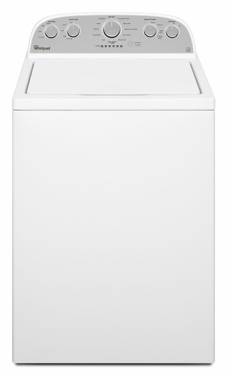 Whirlpool White Top-Load Washer (5.0 Cu. Ft. IEC) - WTW5000DW