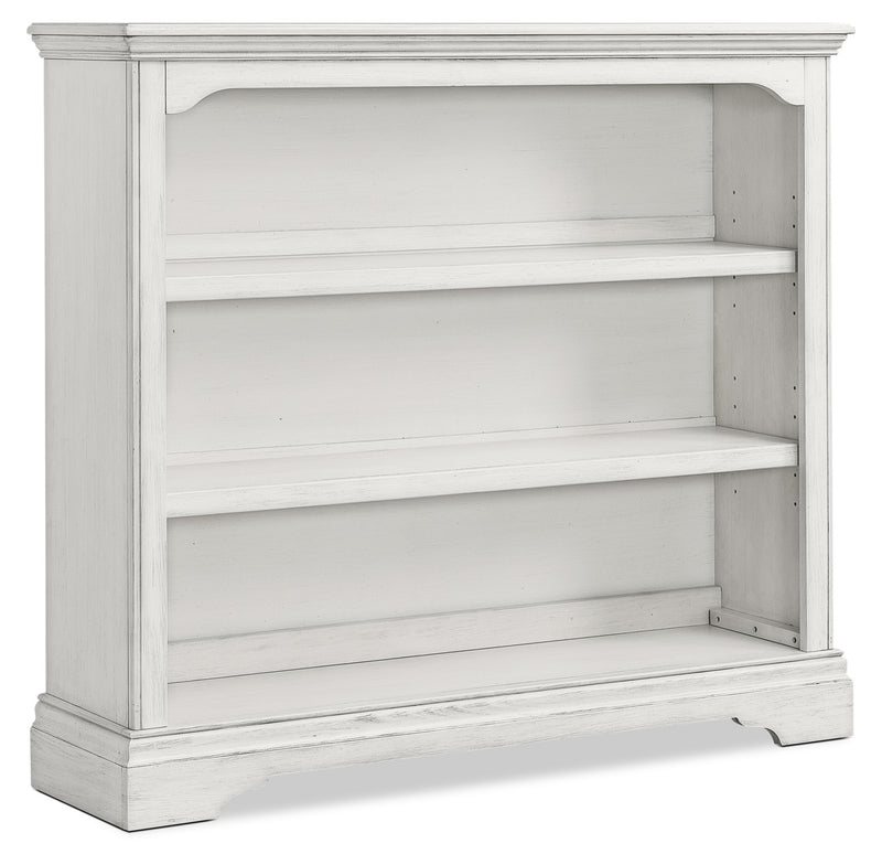 Riley Hutch Bookcase - Brushed White