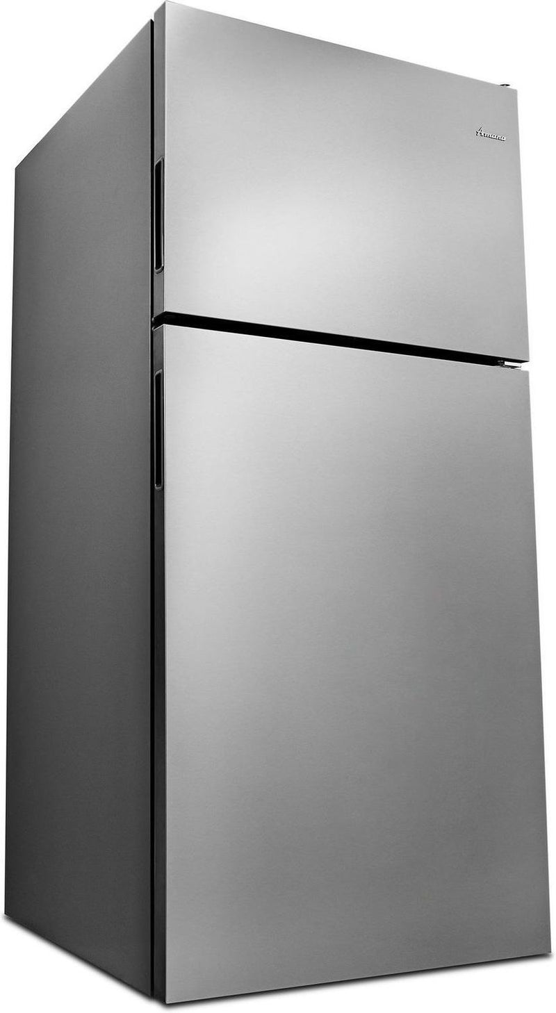 Image of Amana Stainless Steel Top-Freezer Refrigerator (18 Cu. Ft.) - ART318FFDS
