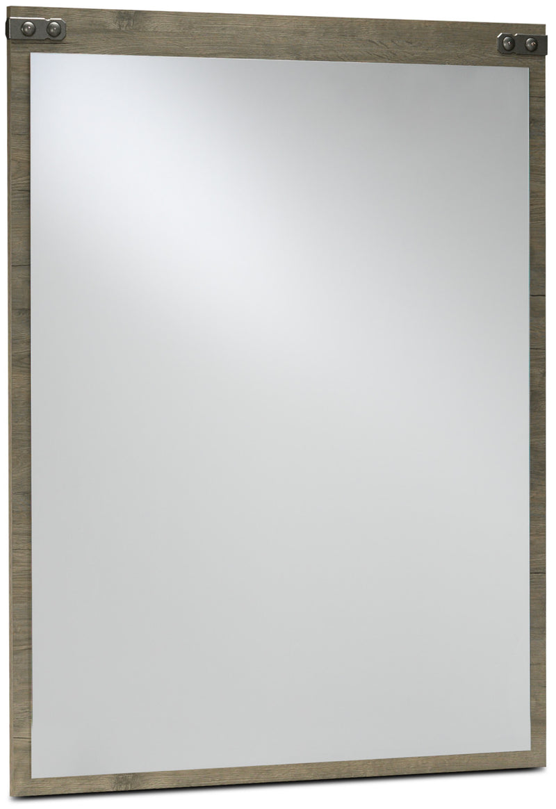 Gramado Mirror - Weathered Oak