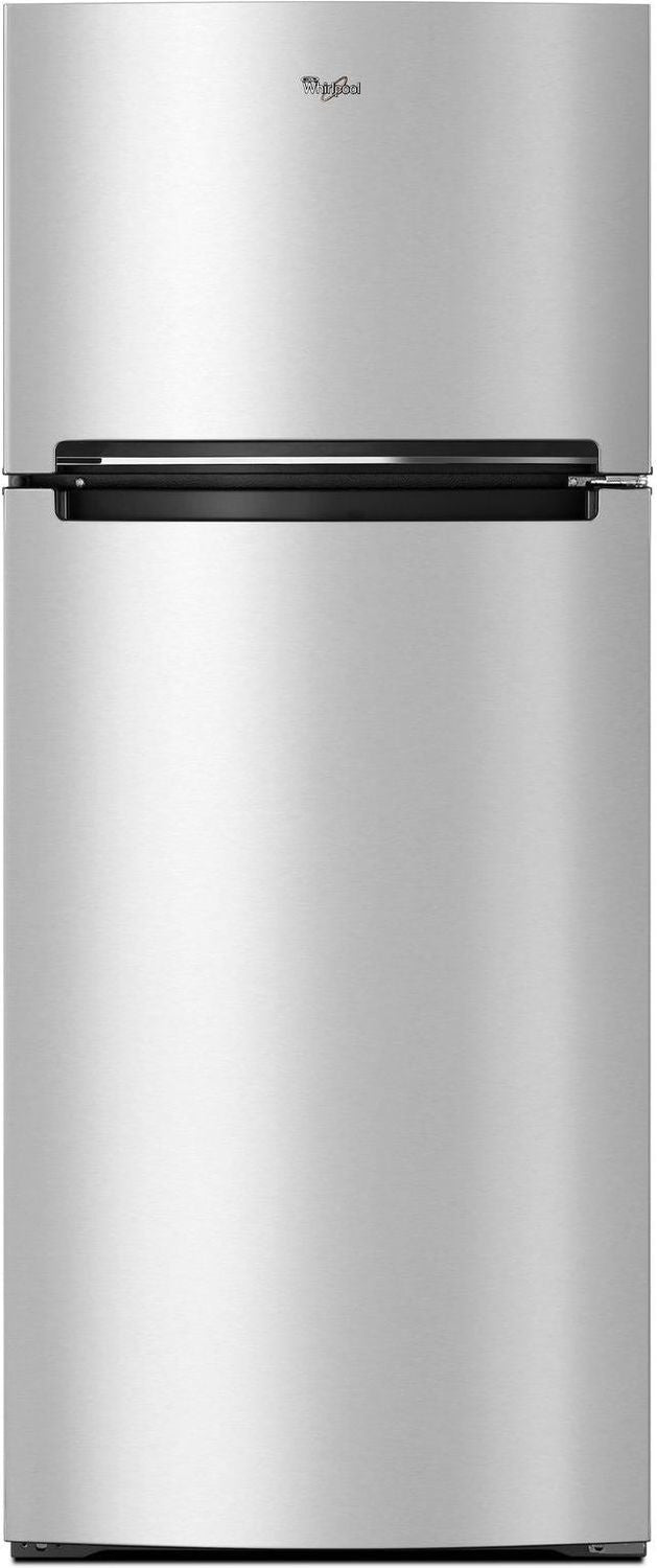 Whirlpool Stainless Steel Top-Freezer Refrigerator (18 Cu. Ft.) - WRT518SZFM