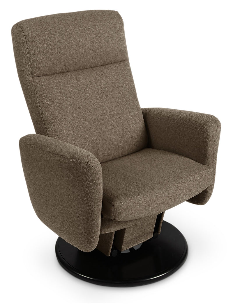 Cydney Swivel Glider Recliner - Brown