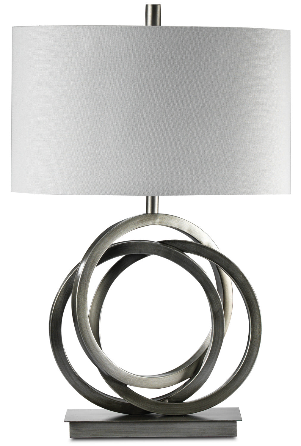 Charm 24 Table Lamp Brushed Chrome Leon S