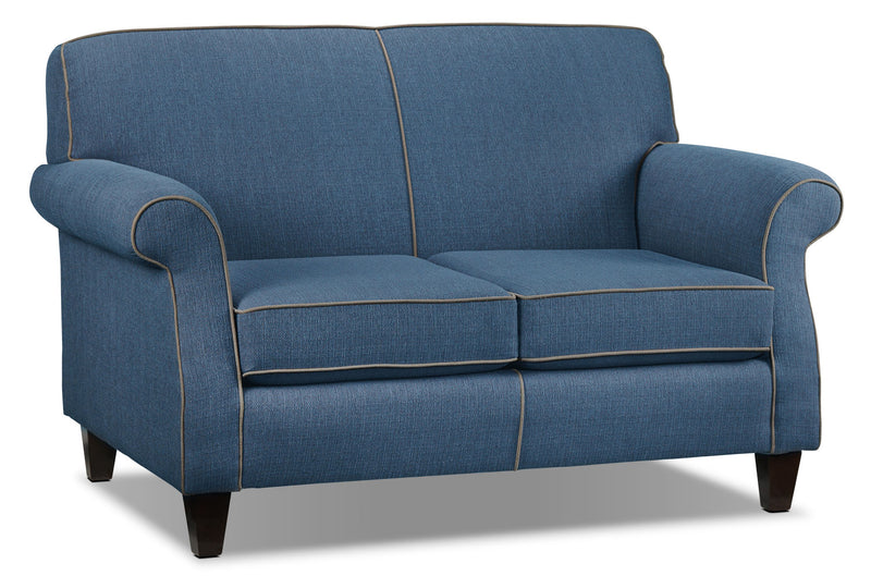 Aristo Loveseat - Blue