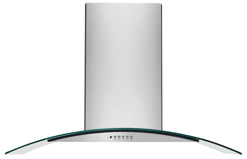 "Frigidaire Stainless Steel and Glass 30"" 400 CFM Canopy Wall-Mount Range Hood - FHWC3060LS"