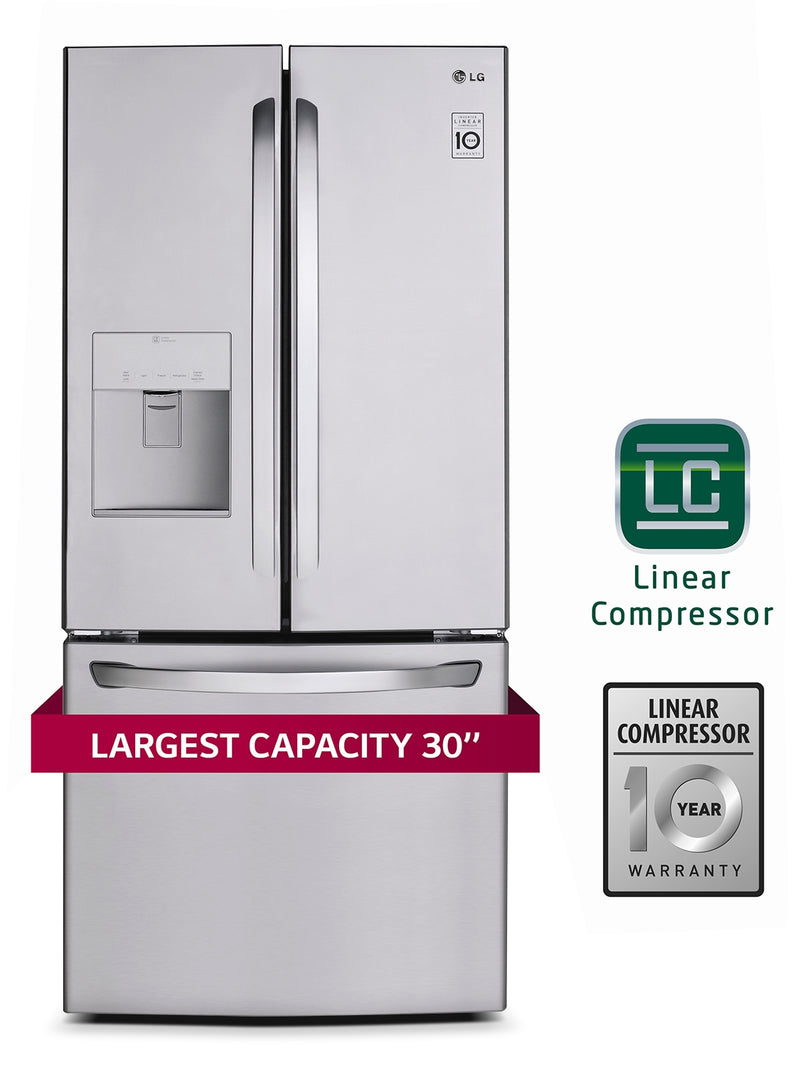 LG Appliances Stainless Steel French Door Refrigerator (21.8 Cu. Ft.) - LFD22786ST