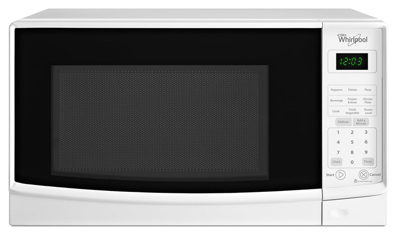 Whirlpool White Microwave (0.7 Cu. Ft.) - WMC10007AW