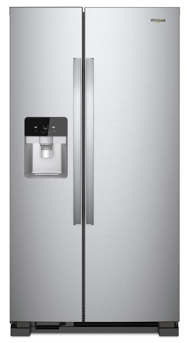 Whirlpool Stainless Steel Side-by-Side Refrigerator (21.4 Cu. Ft.) - WRS321SDHZ