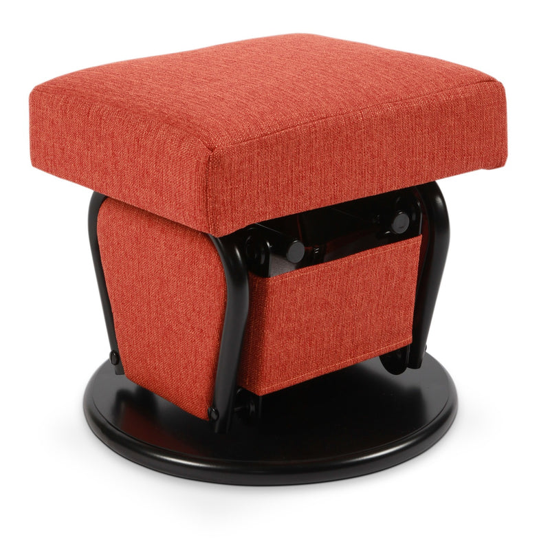 Cydney Glider Ottoman - Orange