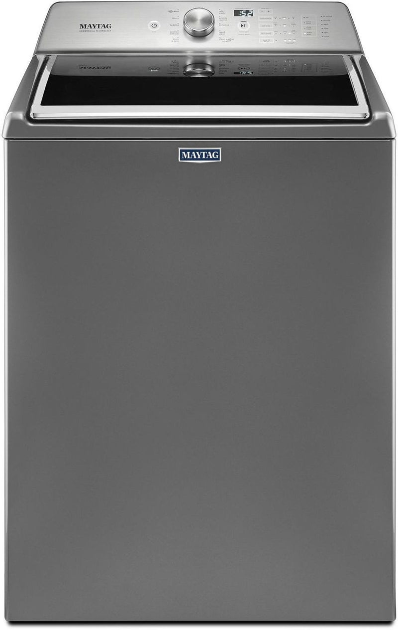 Maytag Metallic Slate Top-Load Washer (5.4 Cu. Ft. IEC) - MVWB765FC