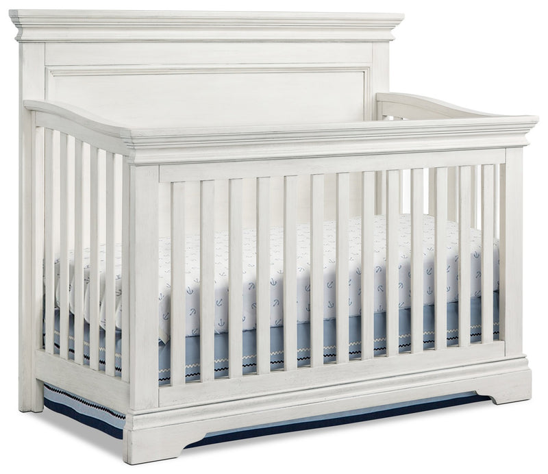 Riley Convertible Crib - Brushed White