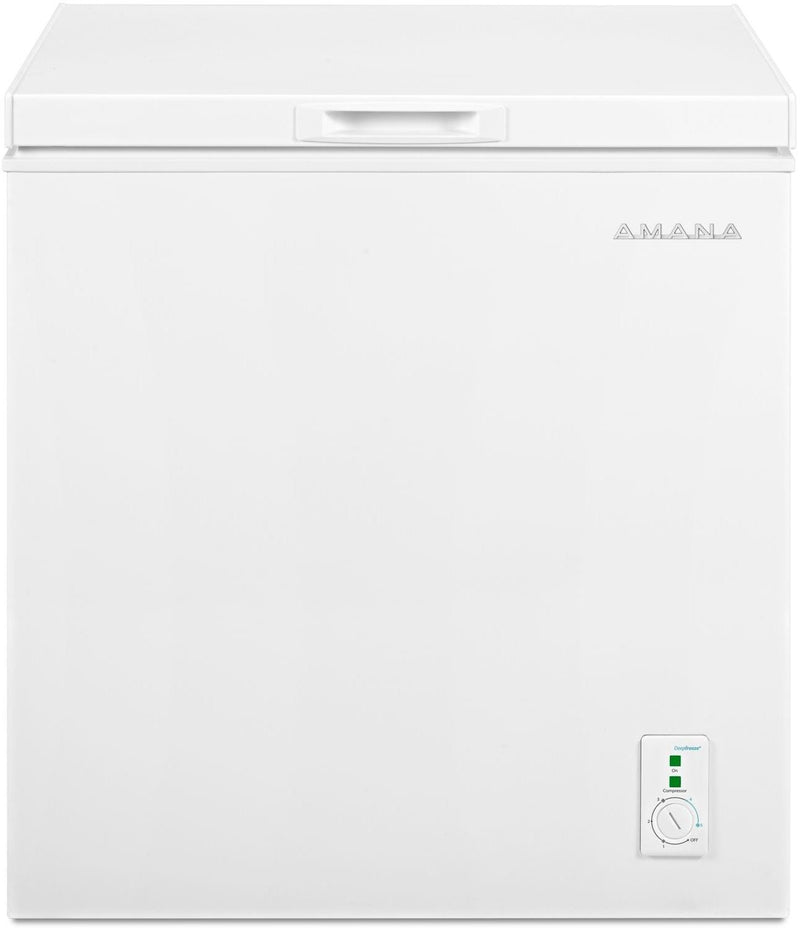 Amana White Compact Chest Freezer (5.3 Cu. Ft.) - AQC0501GRW